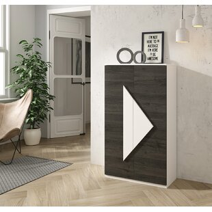 Kenia 20 Pair Shoe Storage Cabinet By Ebern Designs