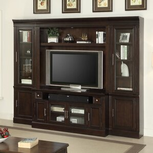 Koval Wood Entertainment Center by World Men..