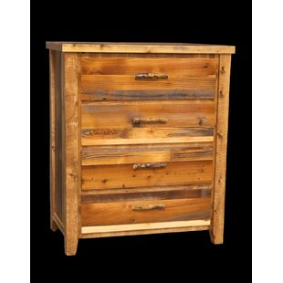 Jorgensen 4 Drawer Chest with Square Legs