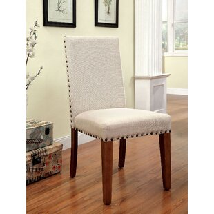 Maxton Upholstered Dining Chair (Set of 2) Gracie Oaks