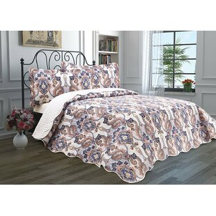 Astoria Grand Shannon Paisley Quilt