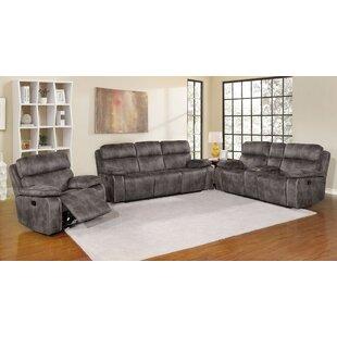 Red Barrel Studio Hakes Reclining Configurable Living Room Set