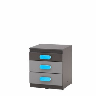 Jolie 3 Drawer Filing Cabinet By Metro Lane