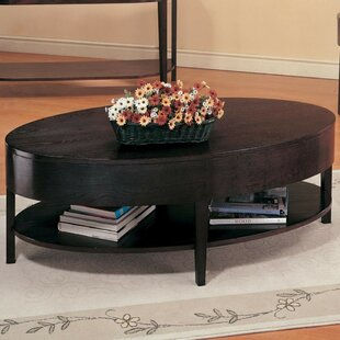Hico Coffee Table with Lower Shelf by Charlton Home