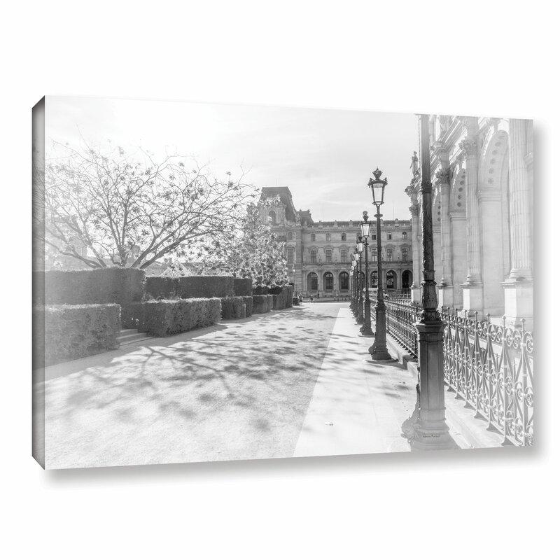 Latitude Run Avenue De La Louve Photographic Print On Gallery Wrapped Canvas Wayfair