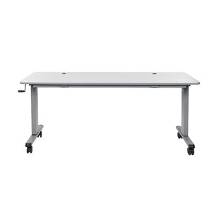 Flip Top Crank Nesting Standing Desk by Luxor Today Sale Only