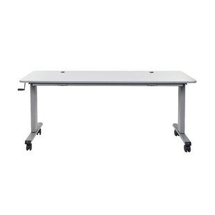 Flip Top Crank Nesting Standing Desk by Luxor Best Design