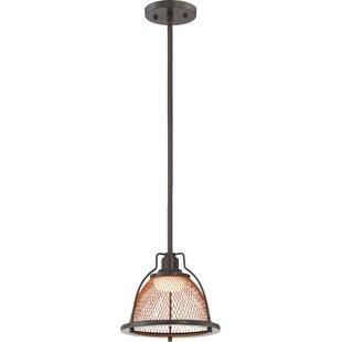 Buy luxury Helene 1-Light  LED Dome Pendant By Laurel Foundry Modern Farmhouse