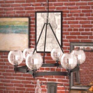 Fulton 6-Light Shaded Chandelier by Trent Austin Design