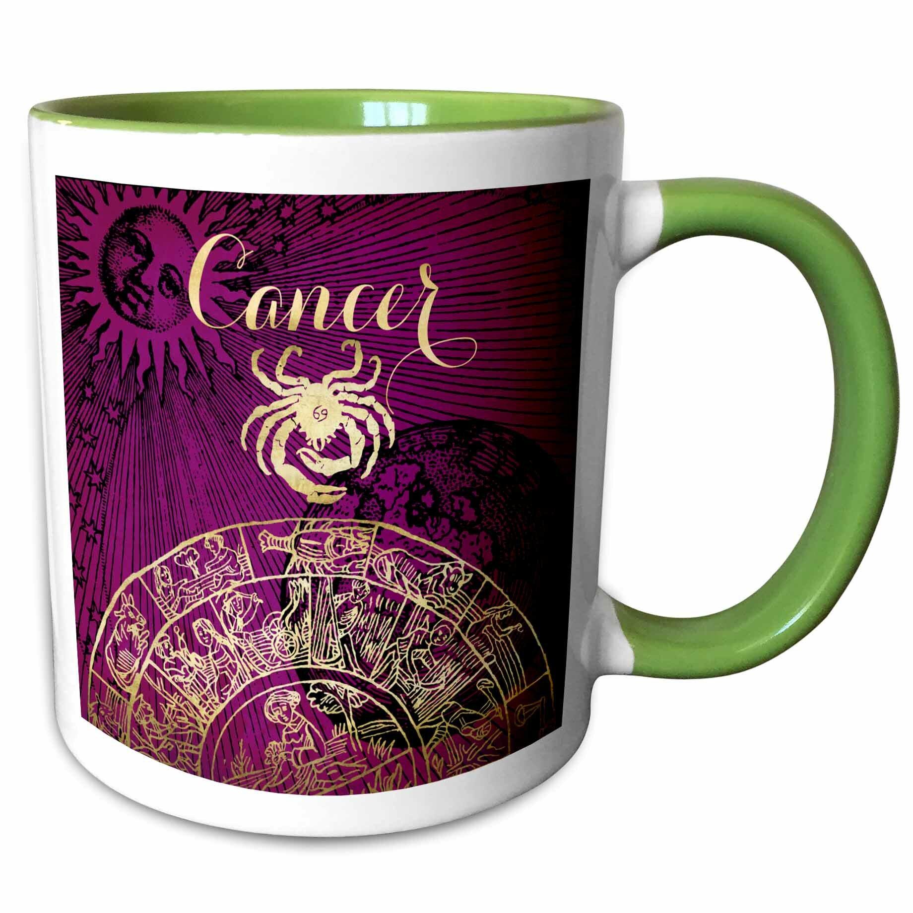 East Urban Home Cancer Symbol Astrology Zodiac Sign Horoscope Coffee Mug Wayfair
