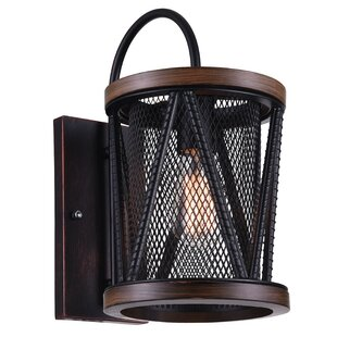 Parsh 1-Light Flush Mount by CWI Lighting