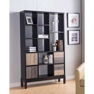 Palmetto Modern Contemporary Design Display Standard Bookcase Best