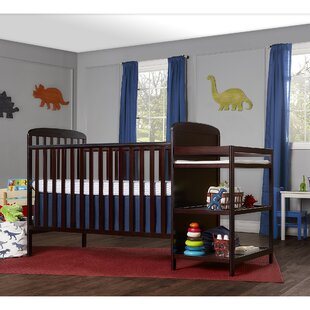 Peckham Full Size 4-in-1 Convertible 2 Piece Crib Set By Mack & Milo