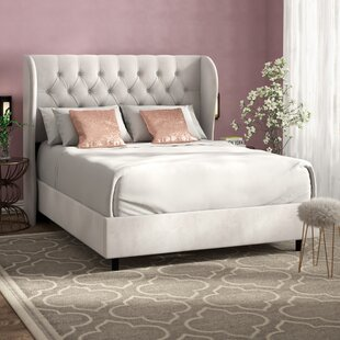 Darrie Upholstered Panel Bed b..