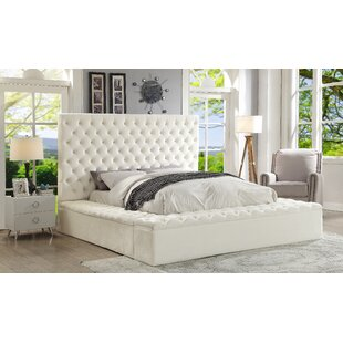 Everly Quinn Ruthann Upholstered Storage Platform Bed