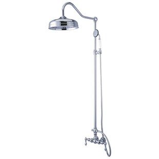 Affordable Vintage Shower Faucet with Valve and Lever Handle ByKingston Brass