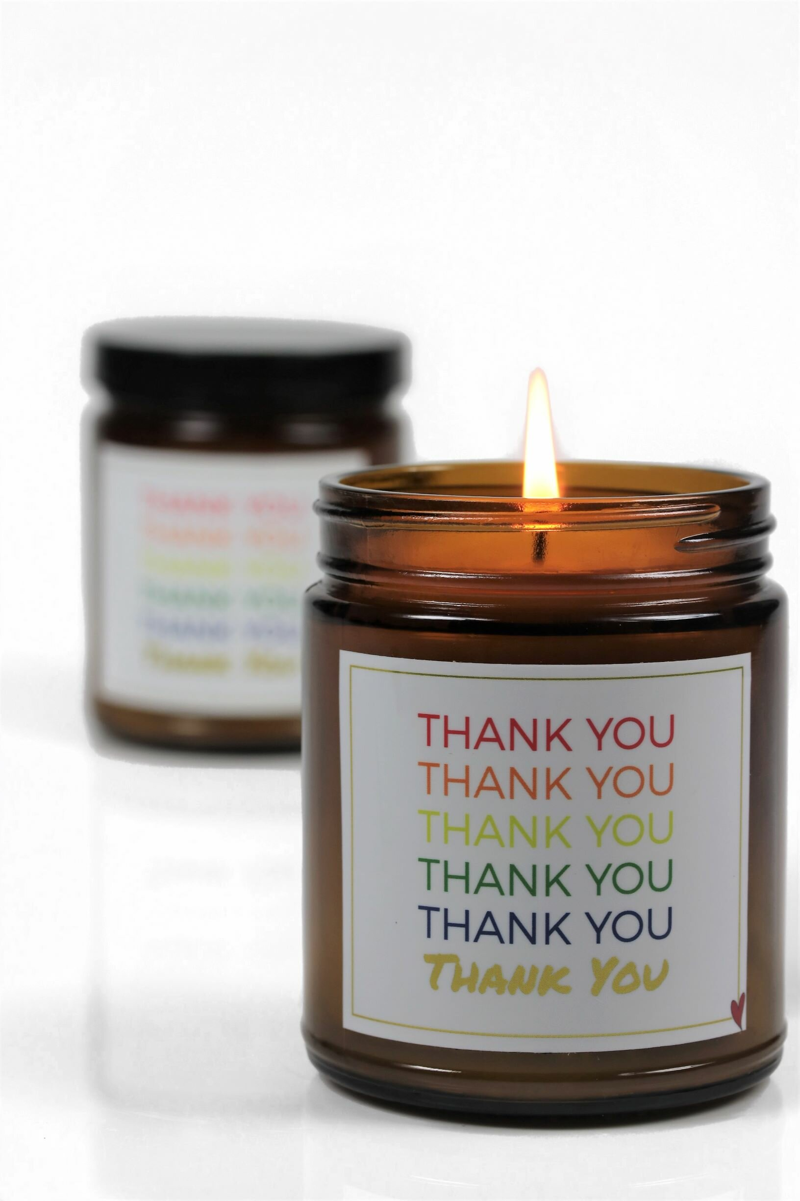 The Party Aisle Thank You Shiso Jasmine Scented Jar Candle Wayfair