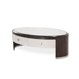 Paris Chic Sled Coffee Table with Storage by Michael Amini / Jayne Seymour Living