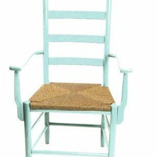 Pellegrin Ladderback Solid Wood Dining Chair