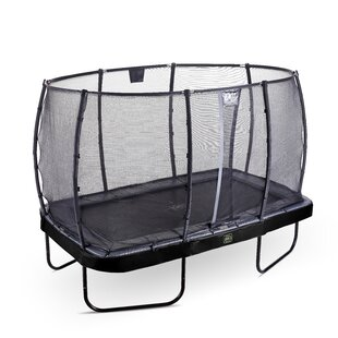 Elegant Premium Backyard Above Ground Trampoline With Safety Enclosure By Exit Toys