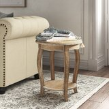 Francoise End Table With Storage by Kelly Clarkson Home