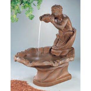 Henri Studio Figurine Concrete Triton Fountain