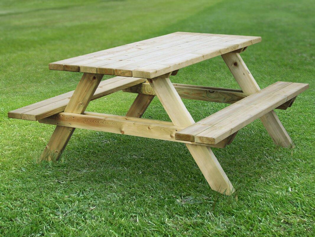Großartig Picknicktisch Rahmen Galerie - Benutzerdefinierte ...