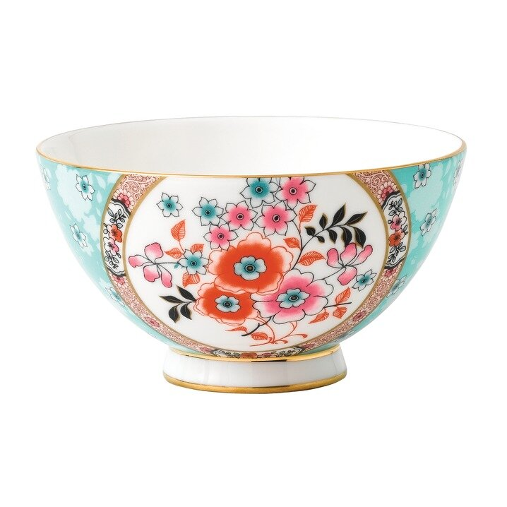 Wedgwood Wonderlust Camellia Bone China Rice Bowl Wayfair