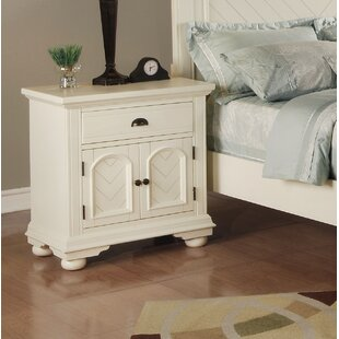 Beachcrest Home Tarquin 1 Drawer Nightstand