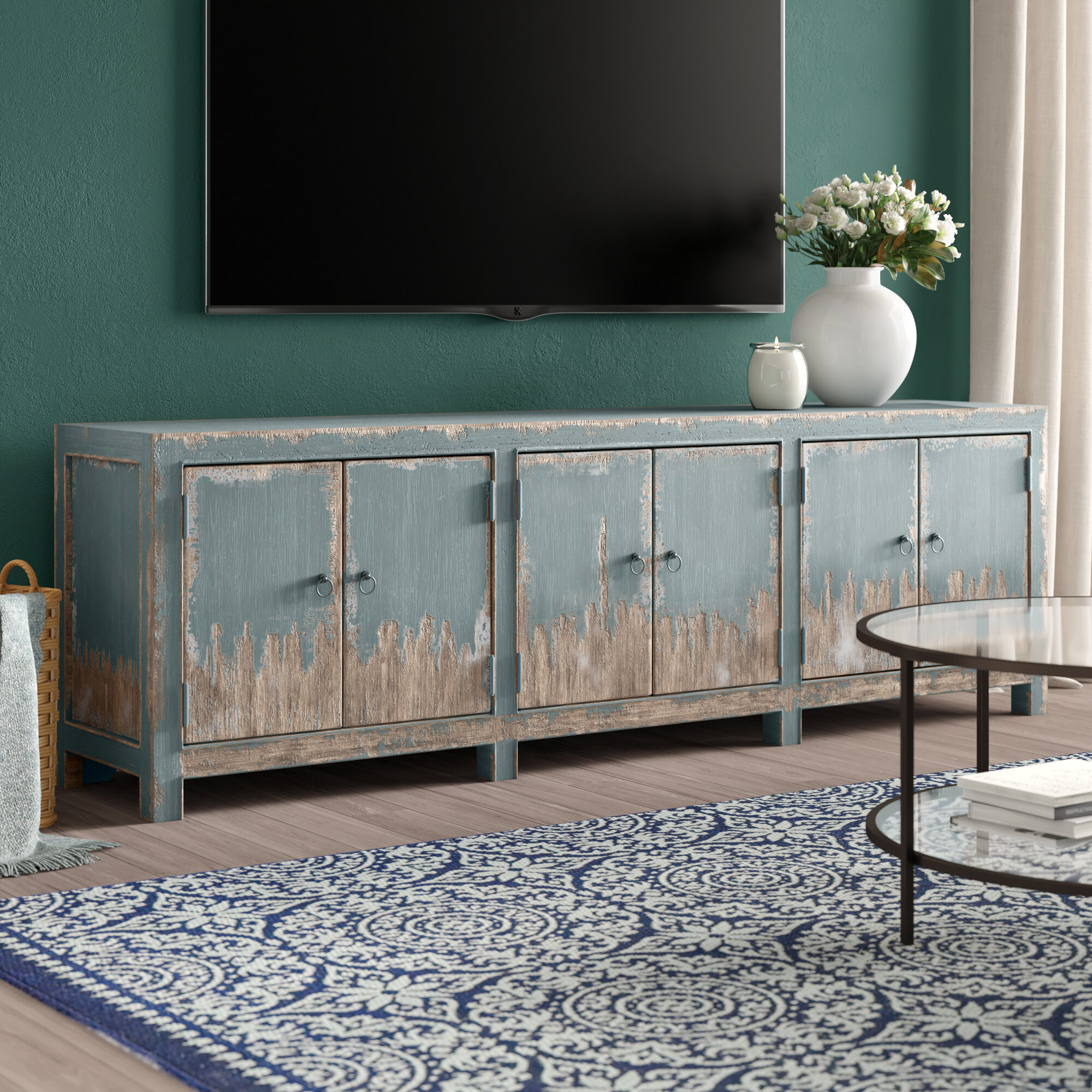 Blue Tv Stands Entertainment Centers You Ll Love In 2021 Wayfair