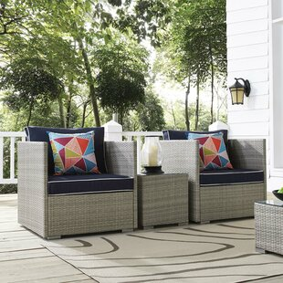 Heinrich 3 Piece Conversation Set with Cushions