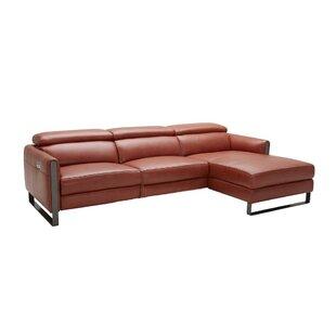 Modern Contemporary Italian Leather Reclining Sofa Allmodern
