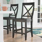 Haslingden 24 Bar Stool (Set of 2) by Three Posts