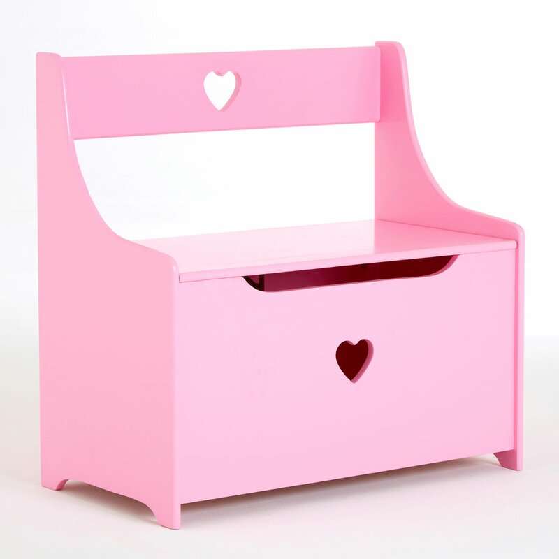 Alec Kids Toy Storage Bench