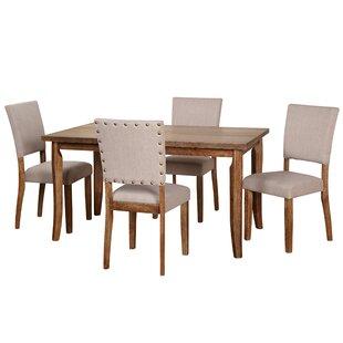 Gracie Oaks Lassiter 5 Piece Dining Set