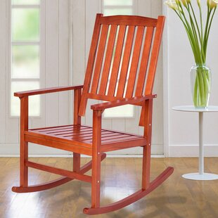 Holguin Wood Rocking Chair (Set of 2) by August Grove