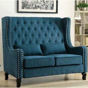 Shop Sara Loveseat by Charlton Home