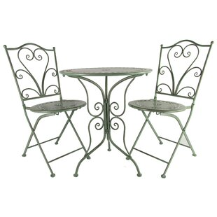 Mittler Dining Set With 2 Chairs By Rosalind Wheeler