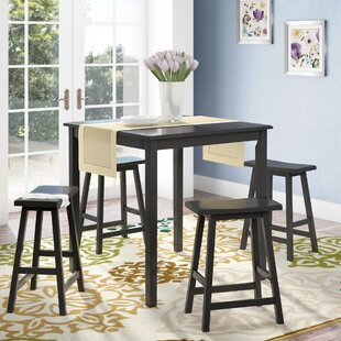 Whitworth 5 Piece Dining Set Andover Mills