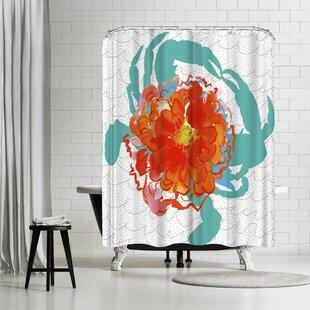 Edith Jackson Deception Single Shower Curtain