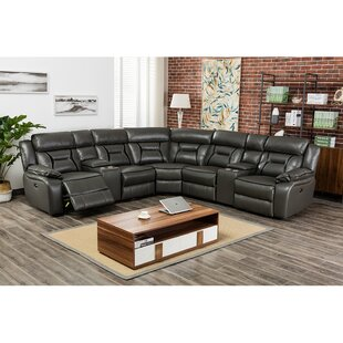 Shop Balcom Reclining Sectional by Winston Porter