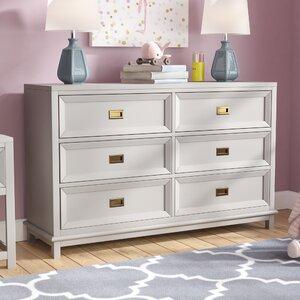 Iesha 6 Drawer Double Dresser