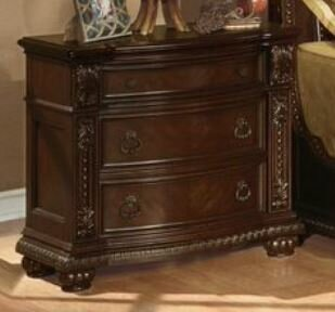 Ralls 3 Drawer Nightstand