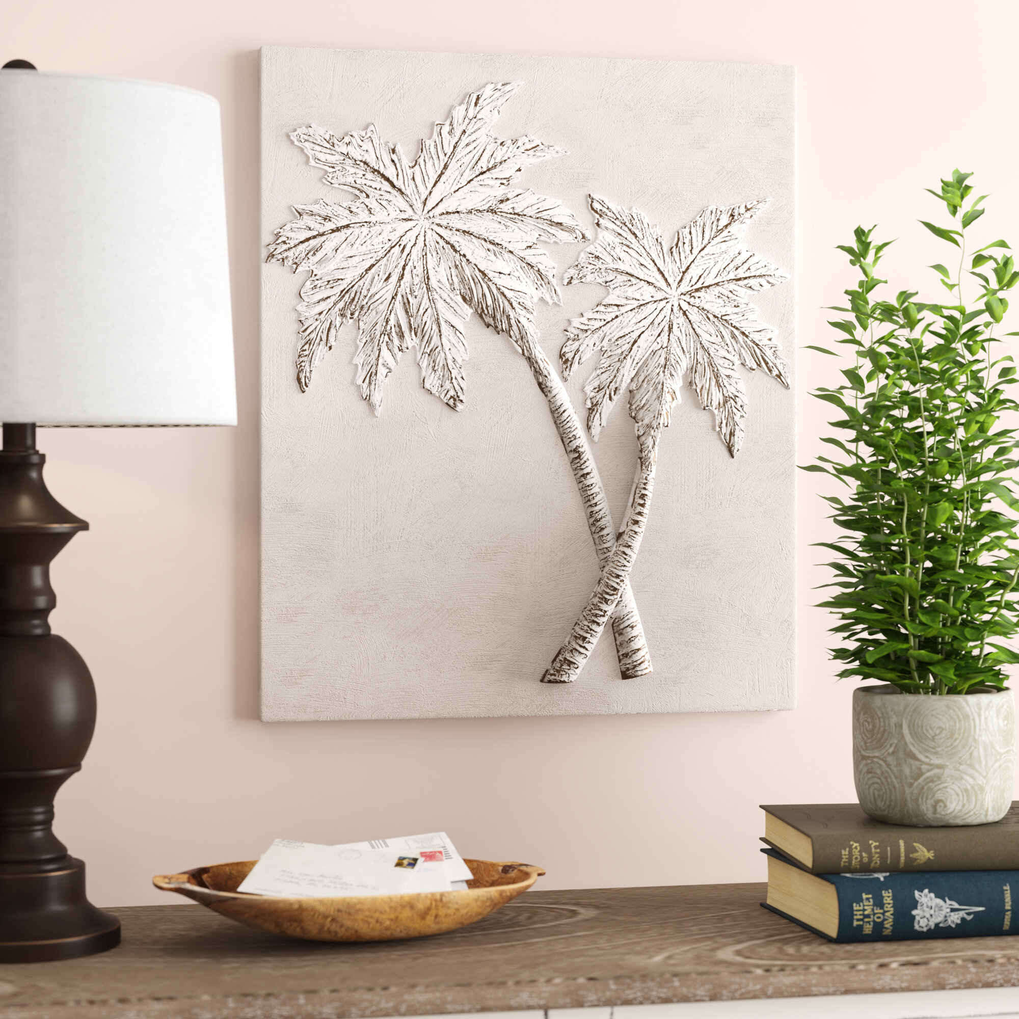 Bay Isle Home Palm Trees Wall Décor