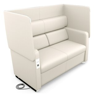Affordable Price Morph Series Soft Seating Loveseat by OFM