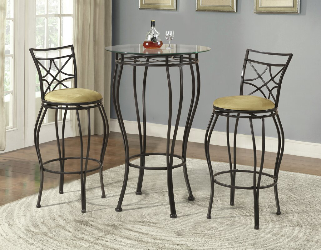 Northridge 3 Piece Pub Table Set & Reviews | Birch Lane