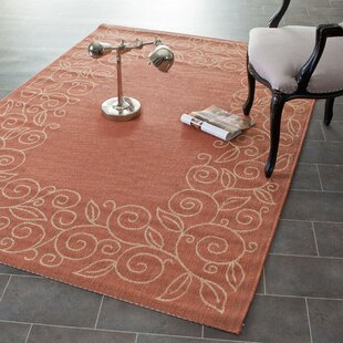 Laurel Terracotta/Beige Indoor/Outdoor Area Rug