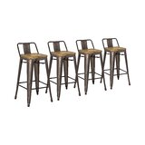 Shumake Solid Wood Bar & Counter Stool (Set of 4) by Trent Austin Design®