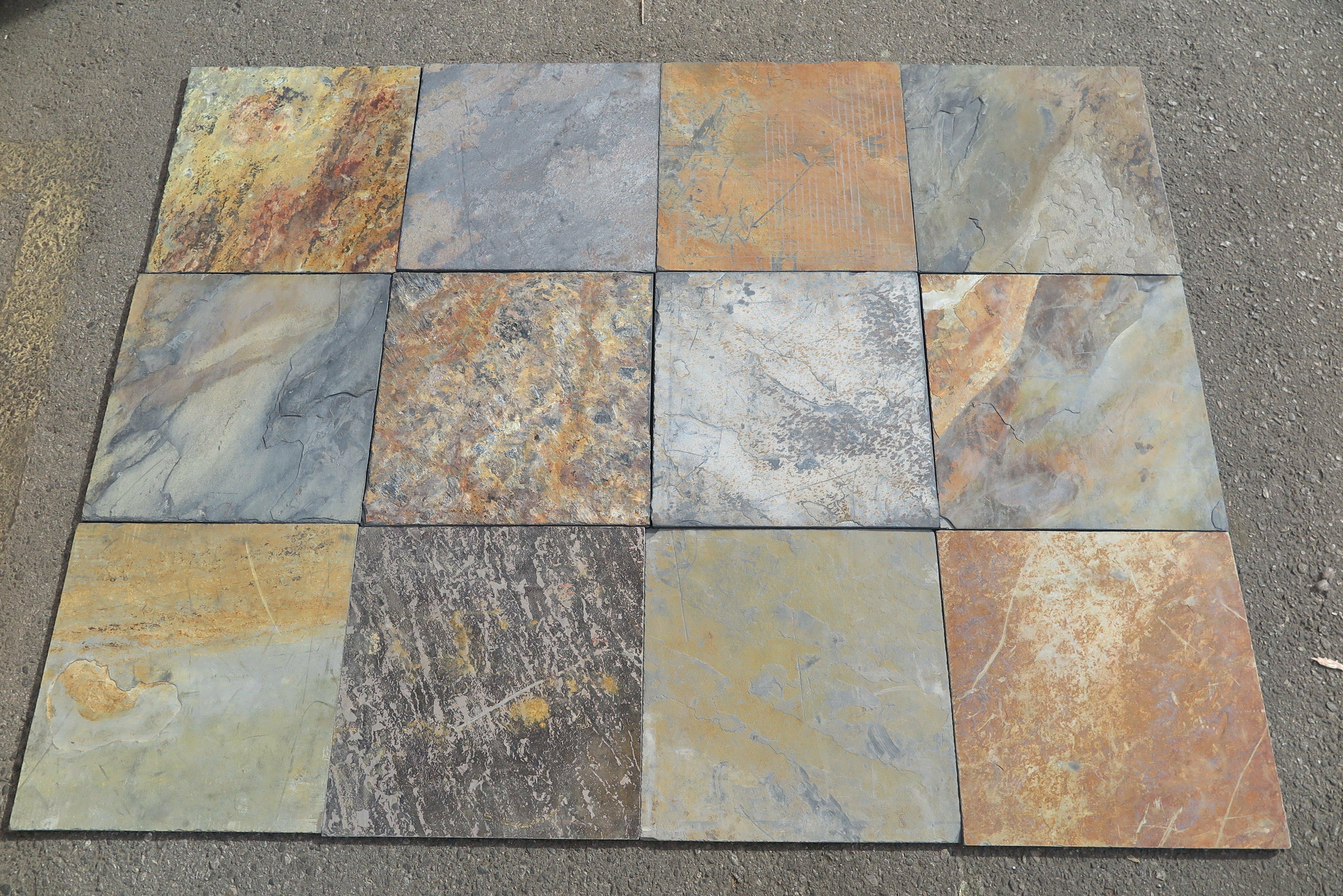 16x16 Slate Field Tile