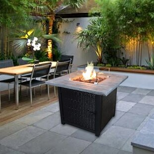 Fraida Concrete Propane Fire Pit Table By Sol 72 Outdoor